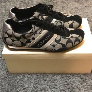 Coach Jayme suede signature sneakers size 7 6.5
